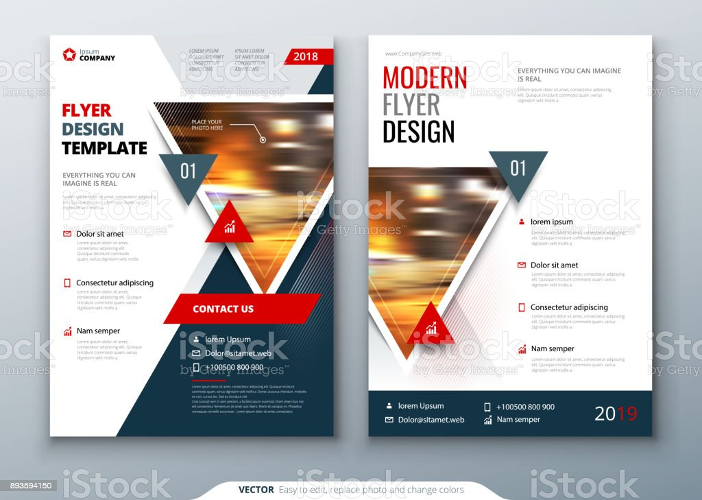 flyer template layout design business flyer brochure magazine or