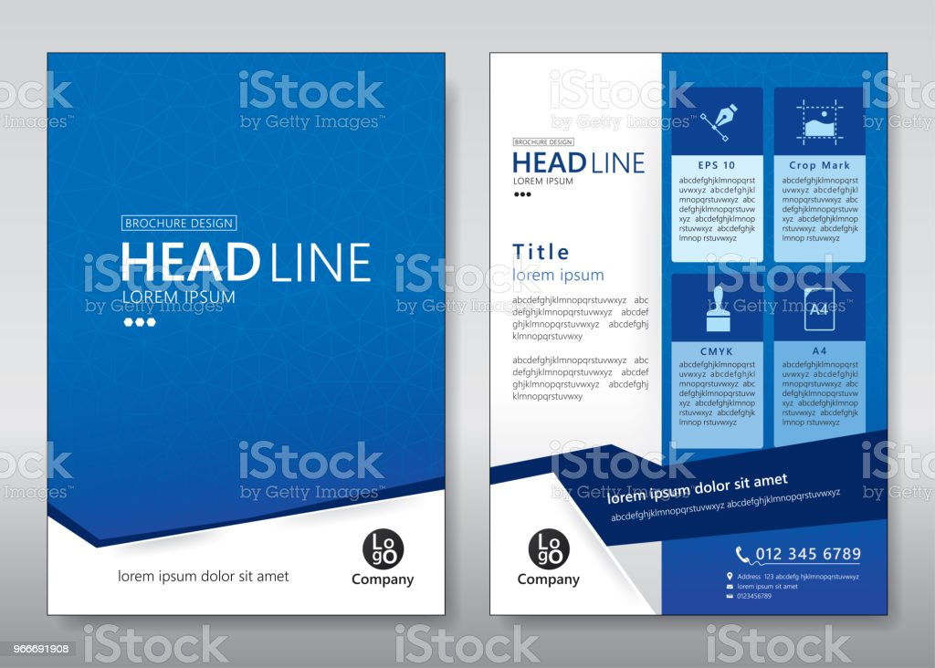 flyer template royalty-free flyer template stock illustration - download image now