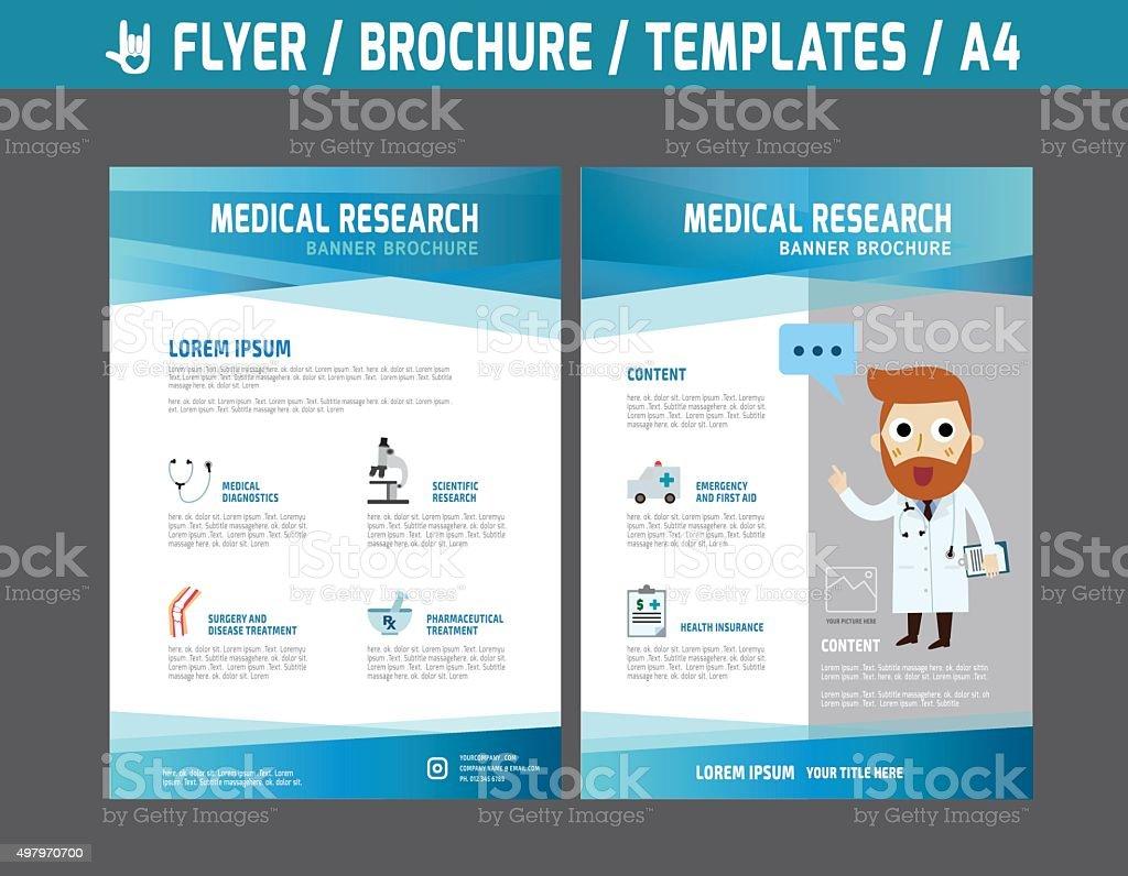 Flyerbrochuretemplatebusiness Health Care Stock Vector Art More