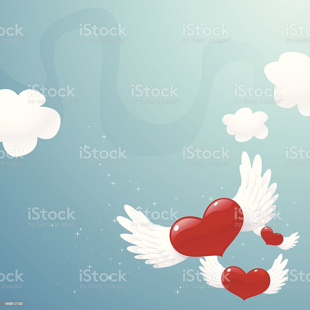Flying away royalty-free flying away stock vector art & more images of backgrounds