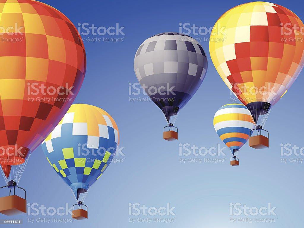 flying colors - Royaltyfri Avkopplingsaktivitet vektorgrafik