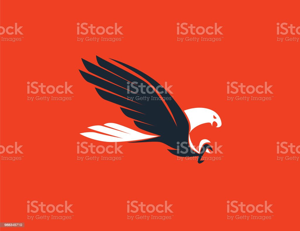 flying eagle symbol