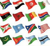 Flying Flags Collection - Africa