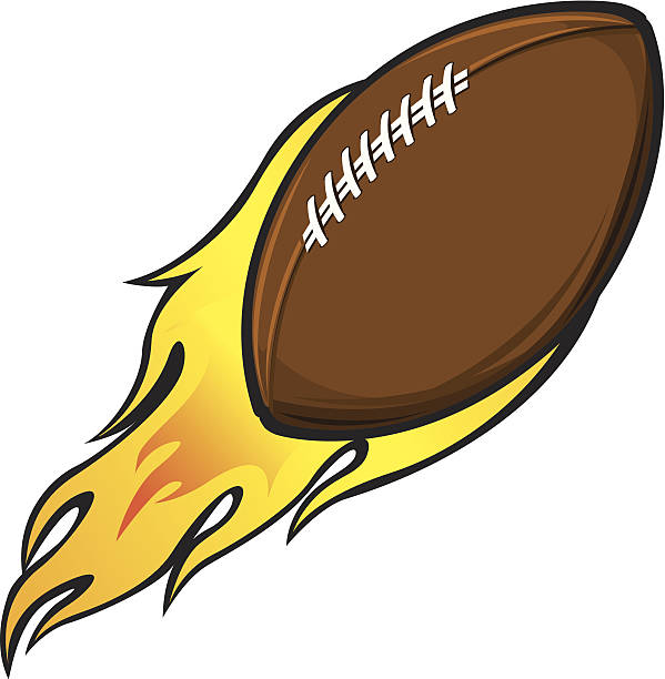 Top 60 Throwing Football Clip Art Vector Graphics And Illustrations