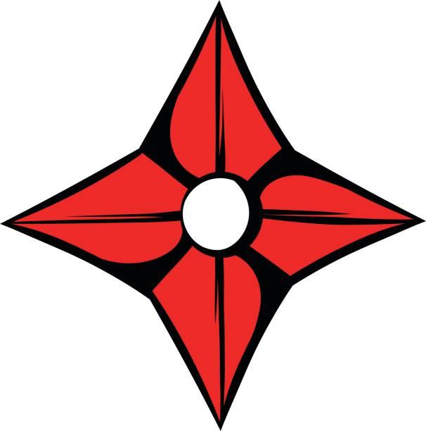 Royalty Free Ninja Star Clip Art, Vector Images ...