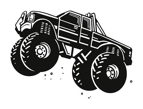 Flying Monster Truck