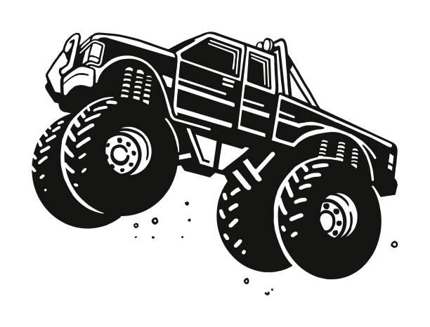 414 Monster Truck Illustrations Royalty Free Vector Graphics Clip Art Istock