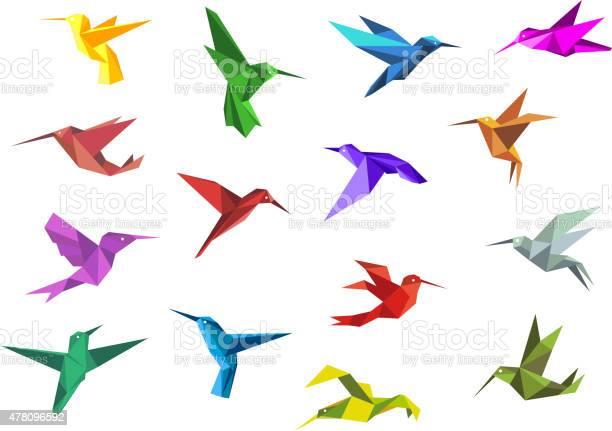 Flying origami hummingbirds or colibri birds vector id478096592?b=1&k=6&m=478096592&s=612x612&h=ikqp06aw5qrrebkgyzn7tmcek yauebvqwbvwlxlvjc=