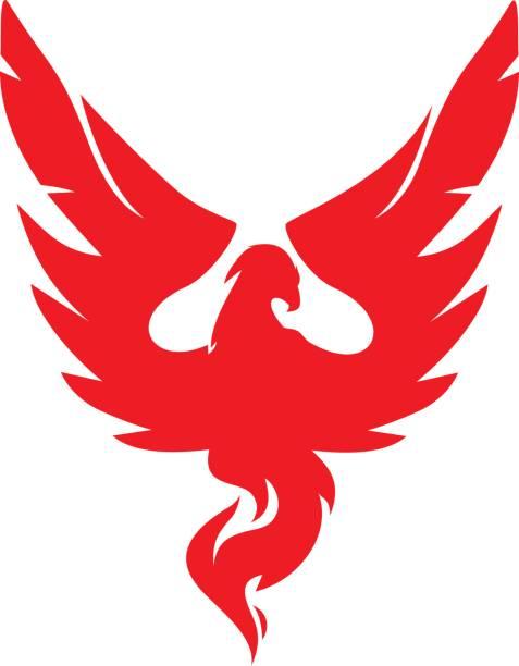 vol Phoenix - Illustration vectorielle