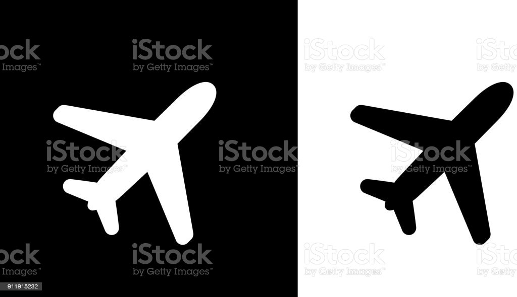 Flying Plane. vector art illustration