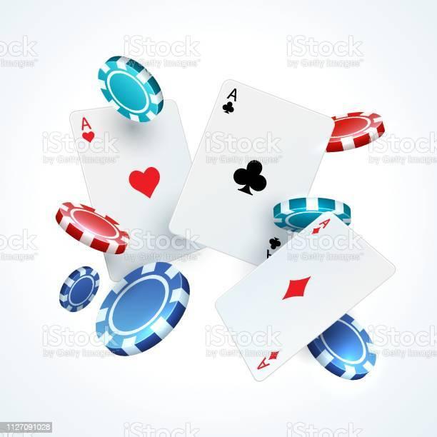 casino poker cards plastic