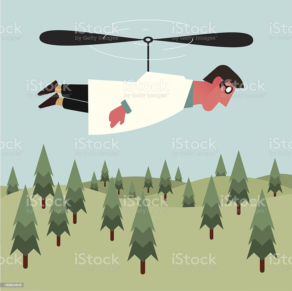 Flying  tree specialist royalty-free flying tree specialist stock vector art & more images of flying