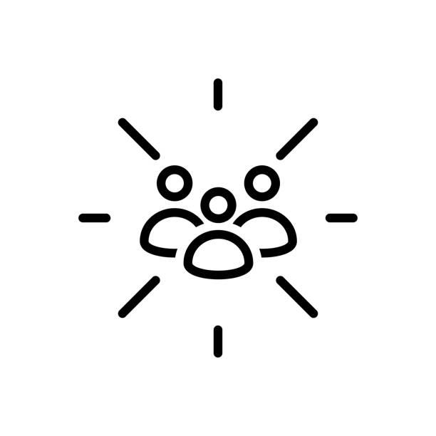 illustrazioni stock, clip art, cartoni animati e icone di tendenza di focus group - focus group