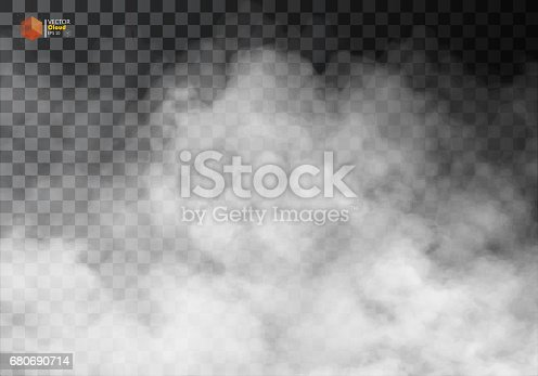 istock Fog or smoke isolated transparent special effect. 680690714