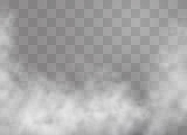 stockillustraties, clipart, cartoons en iconen met mist of rook - mist
