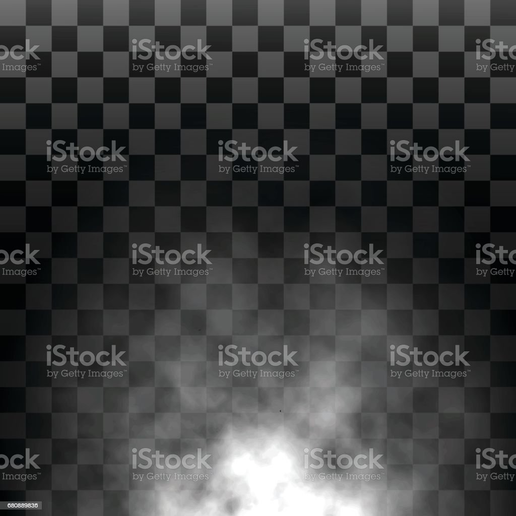 Fog, Steam or Smoke Isolated Transparent Special Effect. White vector cloudiness, Mist or Smog Background. Vector Illustration royalty-free fog steam or smoke isolated transparent special effect white vector cloudiness mist or smog background vector illustration stock vector art & more images of abstract