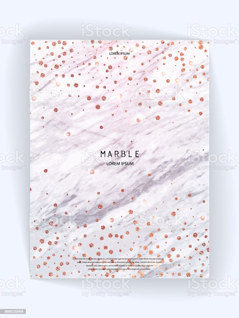 foil vector background marble texture trendy template for new year party wedding