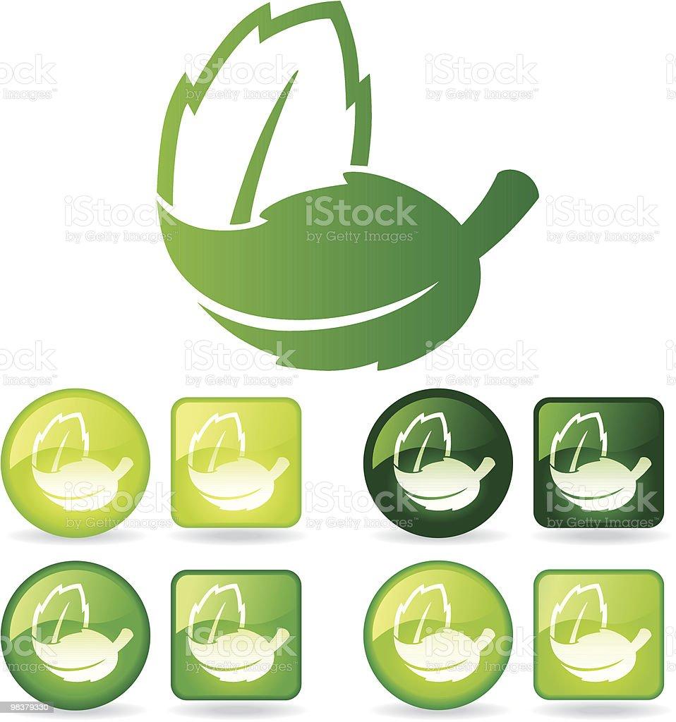 접은 잎 royalty-free 접은 잎 공중에 대한 스톡 벡터 아트 및 기타 이미지