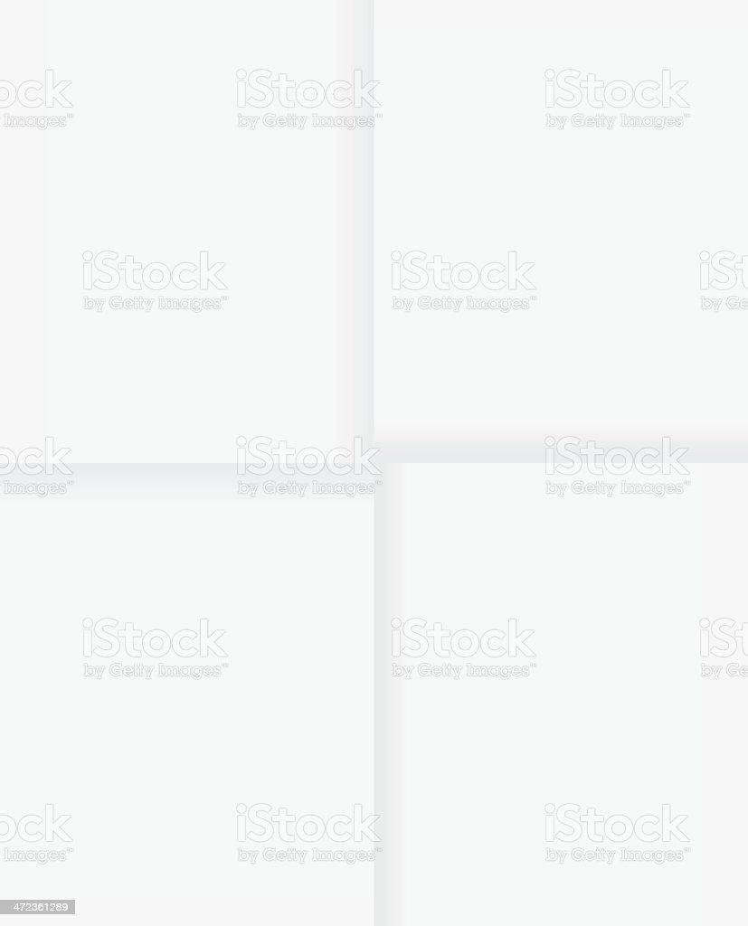 Folded paper royalty-free stock vector art