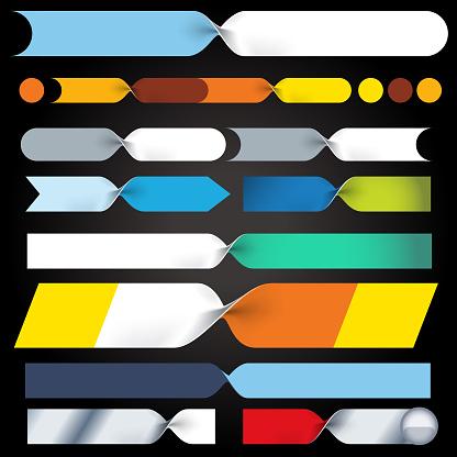 Folder bands