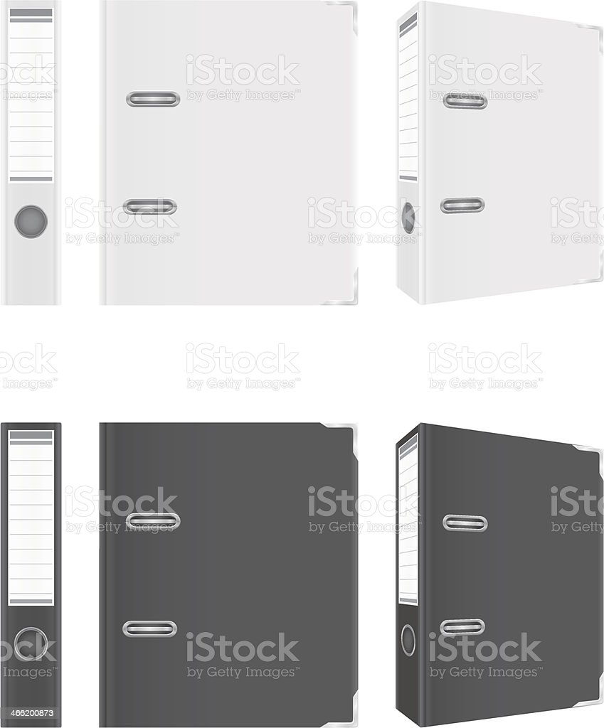 folder black and white binder metal rings vector illustration royalty-free folder black and white binder metal rings vector illustration stock vector art & more images of accessibility
