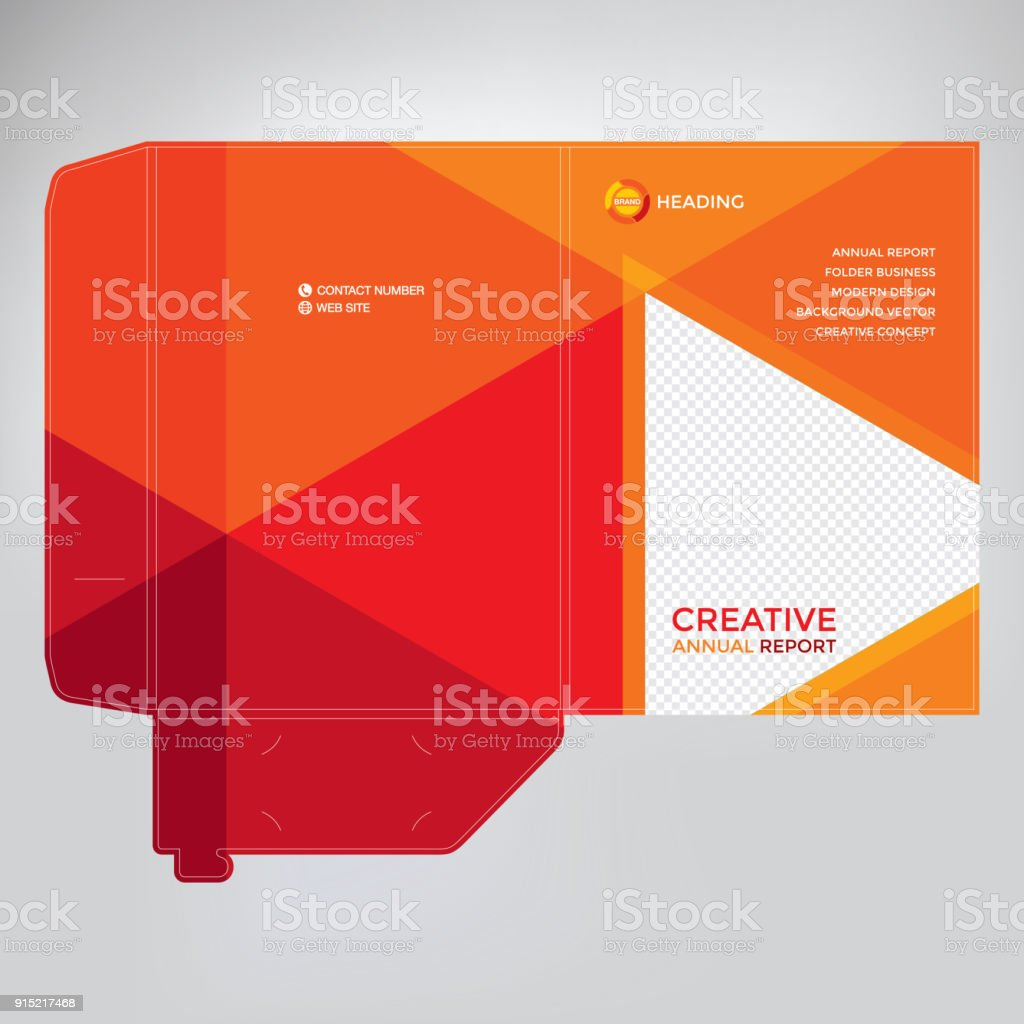 folder cover design stock vector art more images of abstract