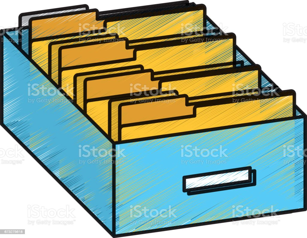 Folder drawer isolated icon royalty-free folder drawer isolated icon stock vector art & more images of archives