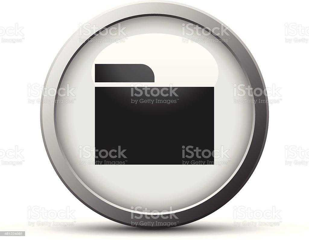 Folder icon royalty-free stock vector art