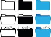 istock folder icon 668483676