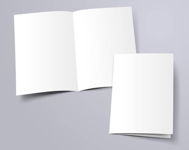 szablon folderu - broszura stock illustrations