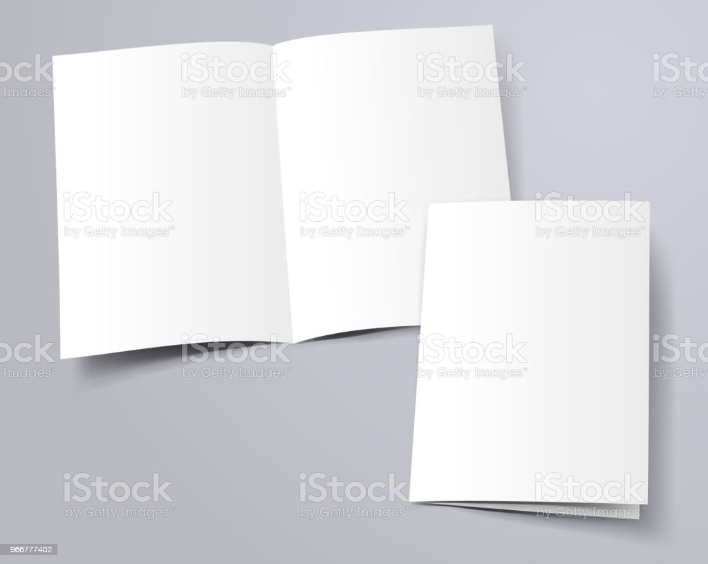 folder template vector art illustration