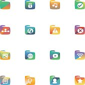 The vector file of folder icon.
