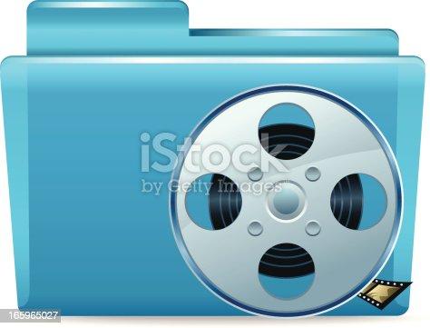 Folder with Films spool