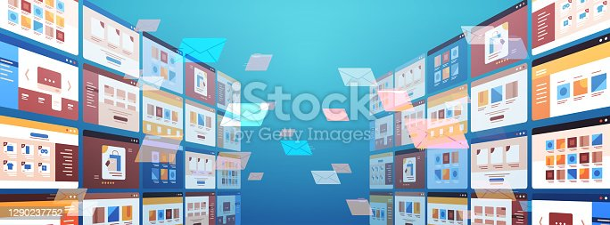 istock folders mail envelopes cloud internet data file icon documents browser window operating system user interface 1290237752