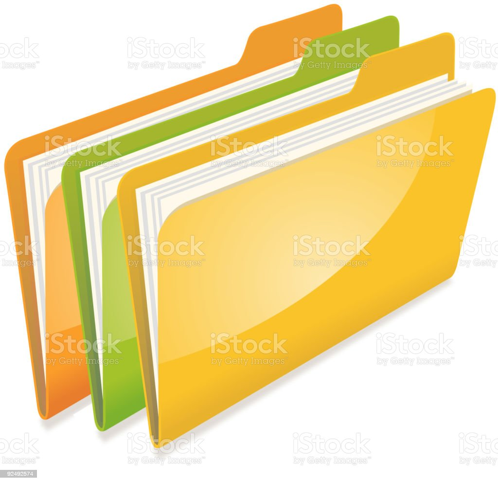 folders royalty-free folders stock vector art & more images of business