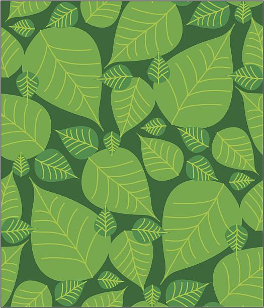 foliage seamless pattern - 葉狀花紋 幅插畫檔、美工圖案、卡通及圖標