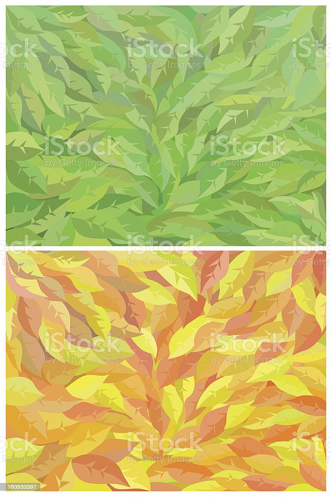 foliage royalty-free stock vector art