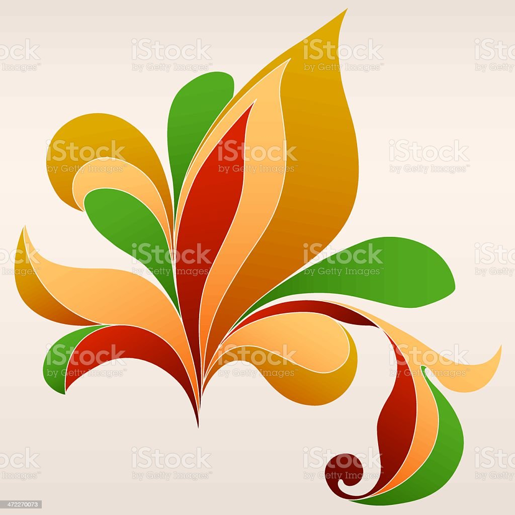 Foliage (vector) royalty-free foliage stock vector art & more images of abstract