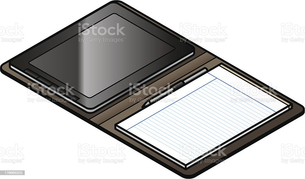 Folio Organizer royalty-free folio organizer stock vector art & more images of business