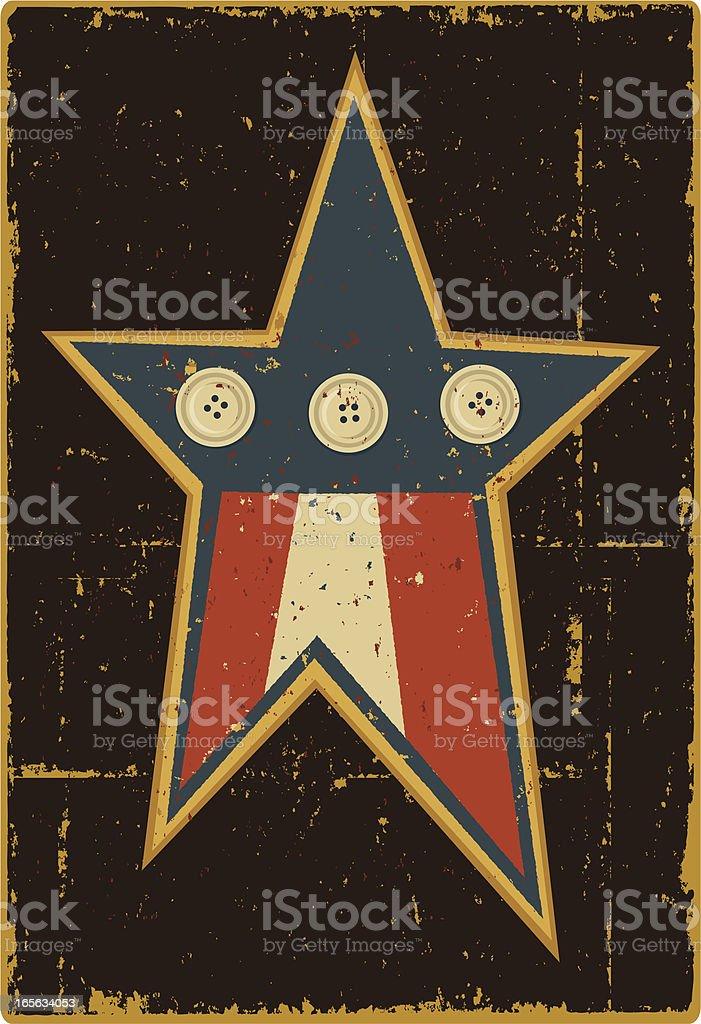 Folk Art Star royalty-free folk art star stock vector art & more images of blue