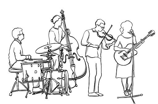 Folk Rock Band