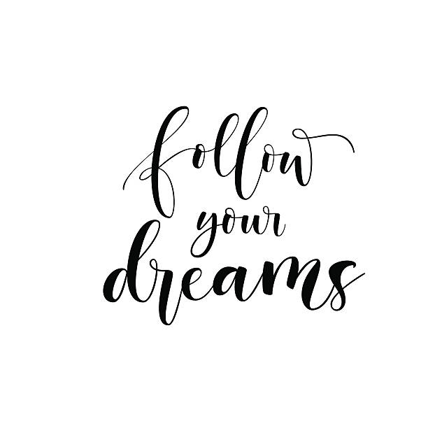 Follow Your Dreams Clipart Royalty Free Si...
