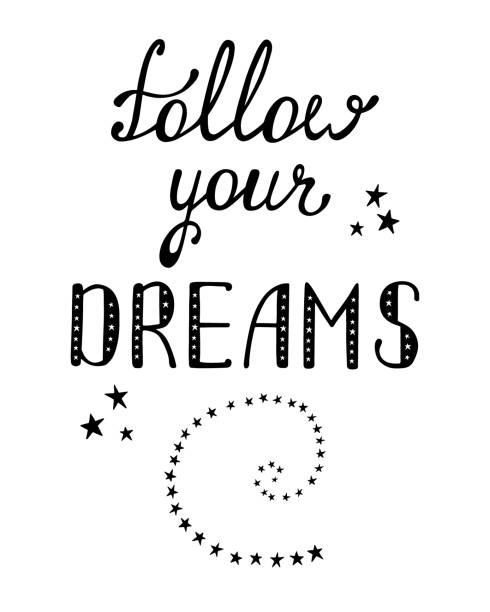 Follow Your Dreams Clipart Royalty Free Sa...