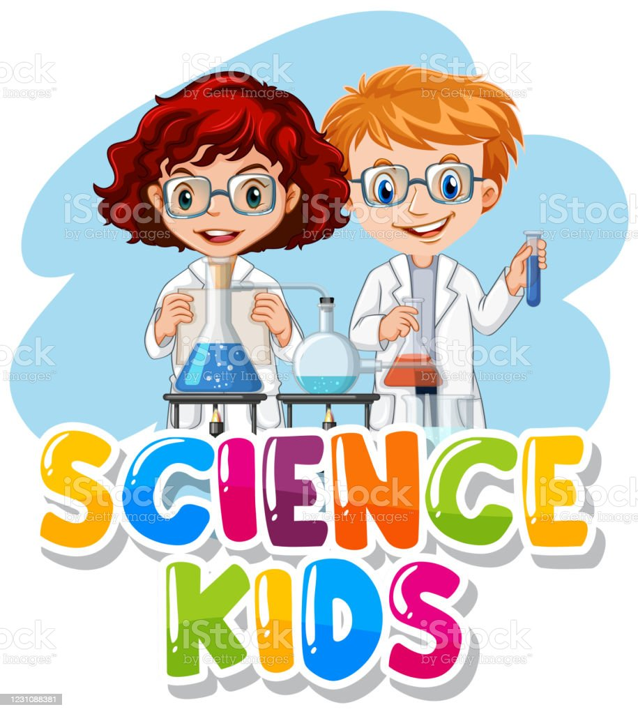 Font Design For Word Science Kids With ...