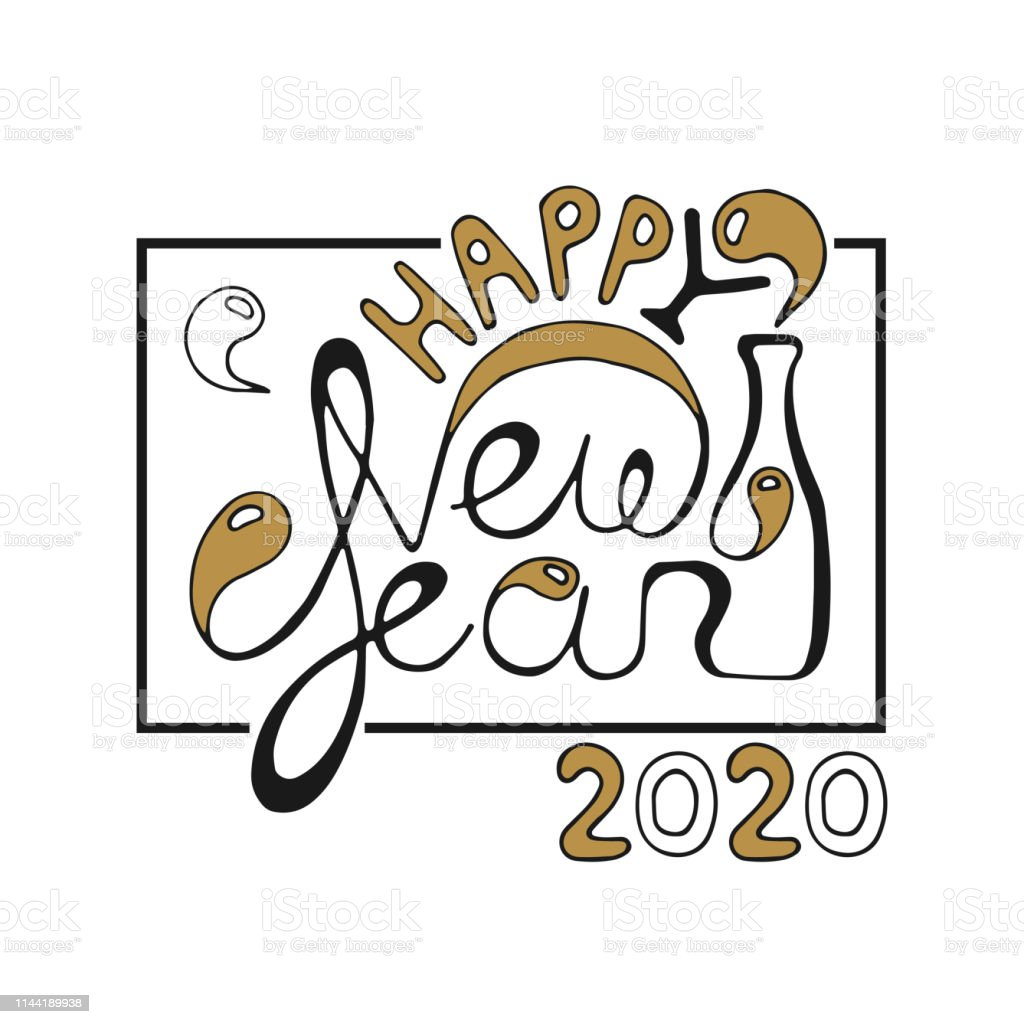 Happy new year 2020 hd photo frame