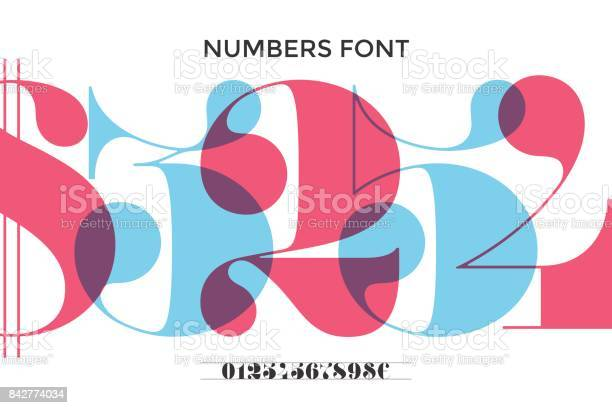 Font of numbers in classical french didot vector id842774034?b=1&k=6&m=842774034&s=612x612&h=cjuybjjyyxdeknm4kmiw5l2ozvw1elphfyody urexk=
