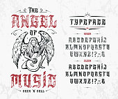 istock Font The Angel of Music. 1220854676
