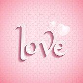 LOVE font type