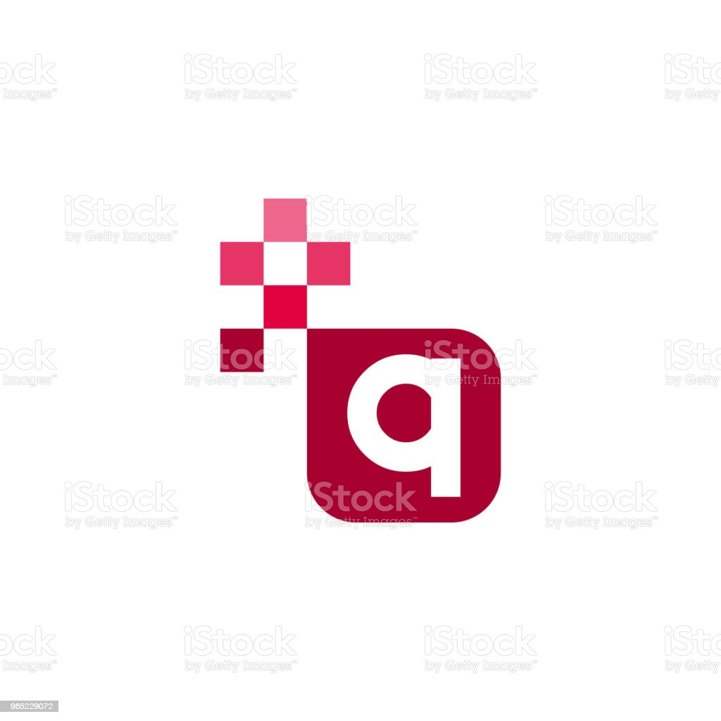 Q Font Vector Template Design royalty-free q font vector template design stock vector art & more images of abstract