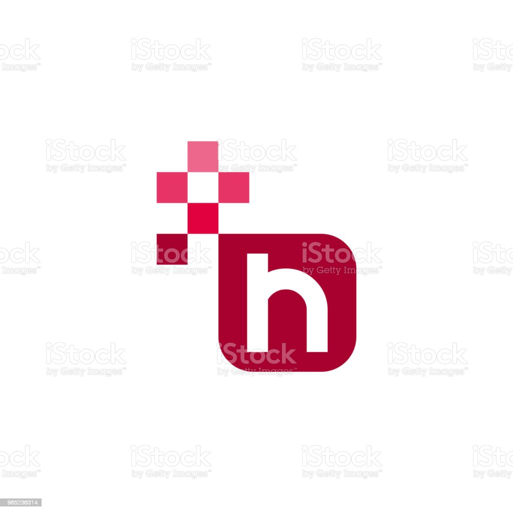 H Font Vector Template Design royalty-free h font vector template design stock vector art & more images of abstract